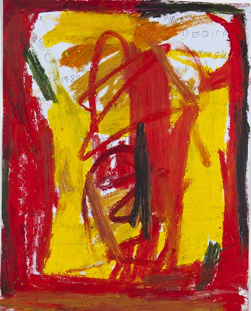 Abstract Red And Yellow, 2012