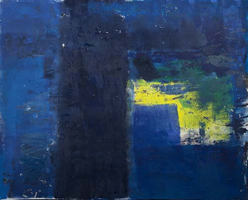 Color Studies in Blue and Yellow, No2, 2014