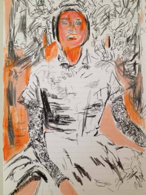 Seated Woman, 2011
